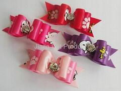 Supply new pet bows dog bows
