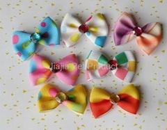 Fashion pet bows dog hair bows
