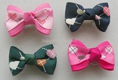 Fashion dog bows pet bows pet hair clip