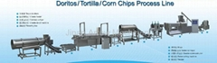 Doritos/ Tortilla/ Corn chips process line