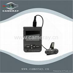 Auto Flap IR LED 220x Zoom Hi-res CCD Camera