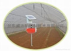 力群牌太陽能滅虫燈(水盆式)