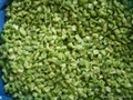 Frozen green pepper