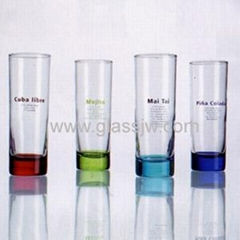 color glass cup