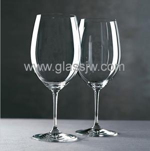 Crystal wine glass 1