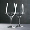 水晶高脚杯  波尔多红酒杯