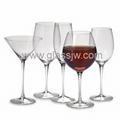 Crystal wine glass 4