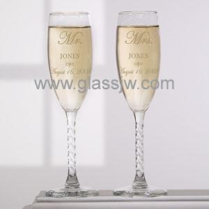 Crystal wine glass 5