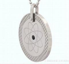 Round Pendant titanium steel pendant