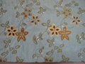 silk embroidery fabric(silk home fabric) 2
