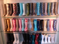 pvc boots for ladies