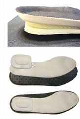 air-breathable insoles