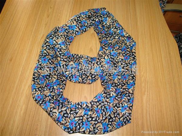 10年日韓流行印花圍巾 1