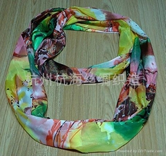 fashion lady's cotton printed scarf