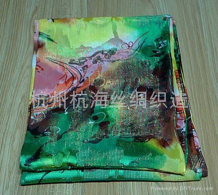10年日韓   花紋女士圍巾 4