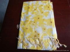10年新款女士百搭印花围巾