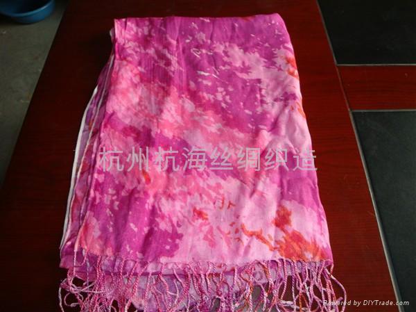 10年新款女士百搭印花圍巾 1