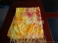 10年新款女士百搭印花圍巾 2
