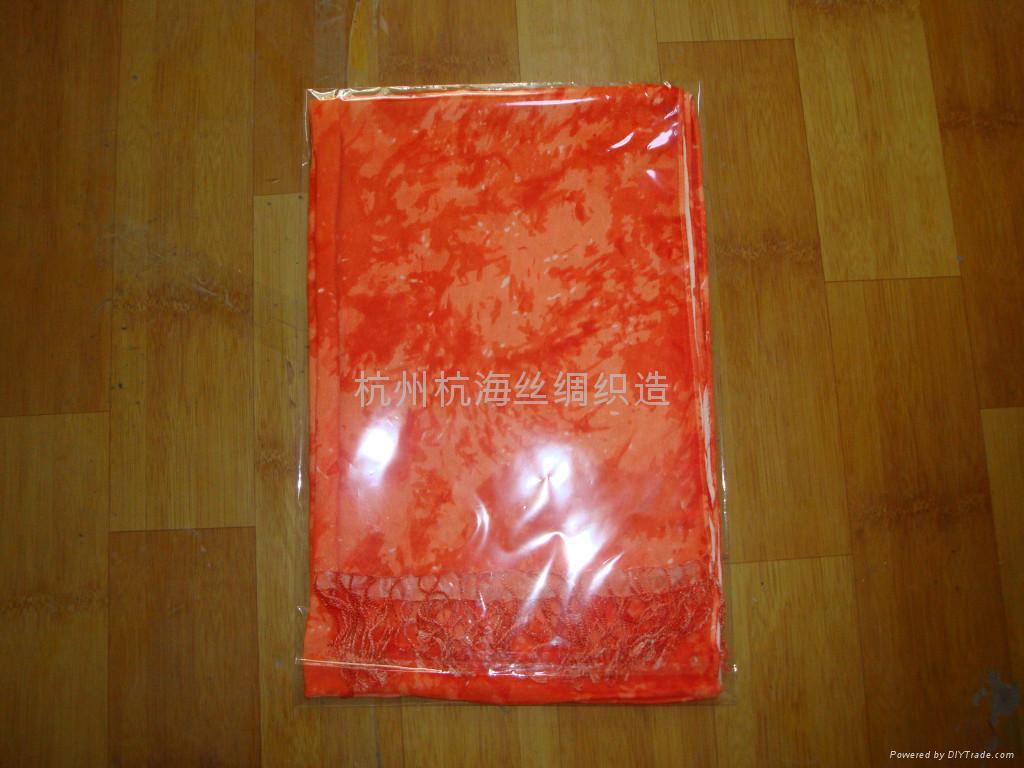 10年日韓   花紋女士圍巾 3