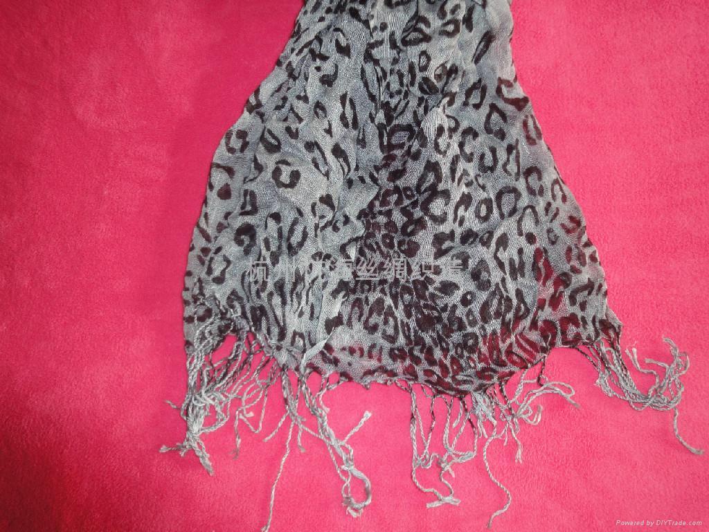 10年新款女士百搭印花圍巾 5