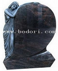 To sell the Colored drawing gravestone CH-003 in high quality