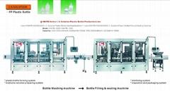 I.V. solution-PP plastic bottle washing,filling & sealing machine