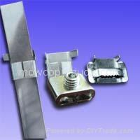 Stainless Steel Wing Seals  (Buckles)