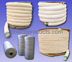 Ceramic Fiber Braided/  Soft/  Twisted Rope