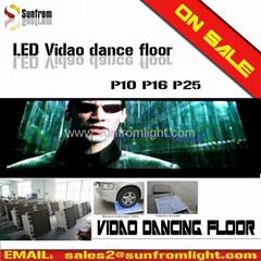 led video dance floor led display floor led screen led stage lighting