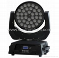 New led wash 4in1 36*10w zoom moving head