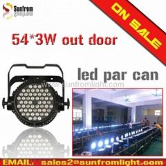 54防水帕燈 54*3W 晶元芯片 超亮par light
