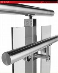 Glass door stainless steel handle