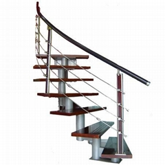 Stainless steel assembled stairs