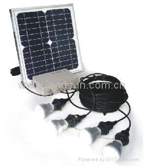 Solar Home Lighting System Livesun China Manufacturer