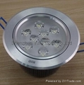 high ceiling downlight/led ceiling pot lights