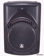 Plastic loudspeaker