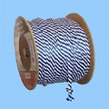Solid braided multifilament PP rope