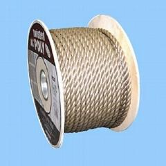 3 strand polypropylene split film rope