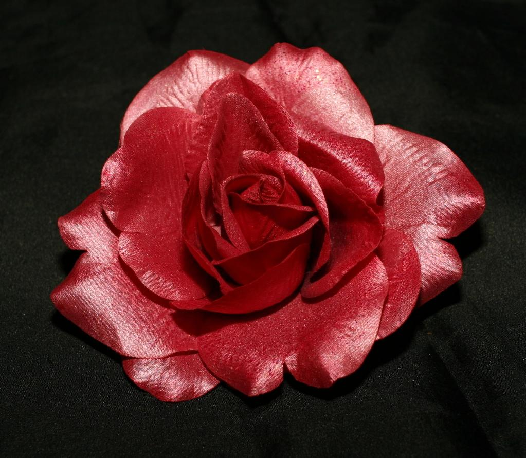 Glitter Rose Flower Heads - BC (Hong Kong Manufacturer) - Products
