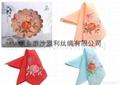 中國甦繡 絲綢手帕