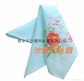 中國甦繡 絲綢手帕 3