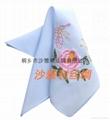 中國甦繡 絲綢手帕 4