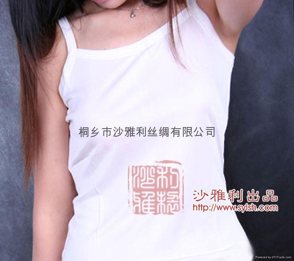 真丝针织吊带衬衫 3