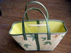 竹手提袋,竹购物袋,竹包,环保手提袋