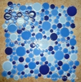 Round cycle glass mosaic Dia 11-45mm
