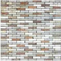marble stone  mosaic (Emperador)