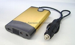 120W car inverter with USB