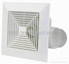 Ceiling ducted ventilating fan(full plastic type)
