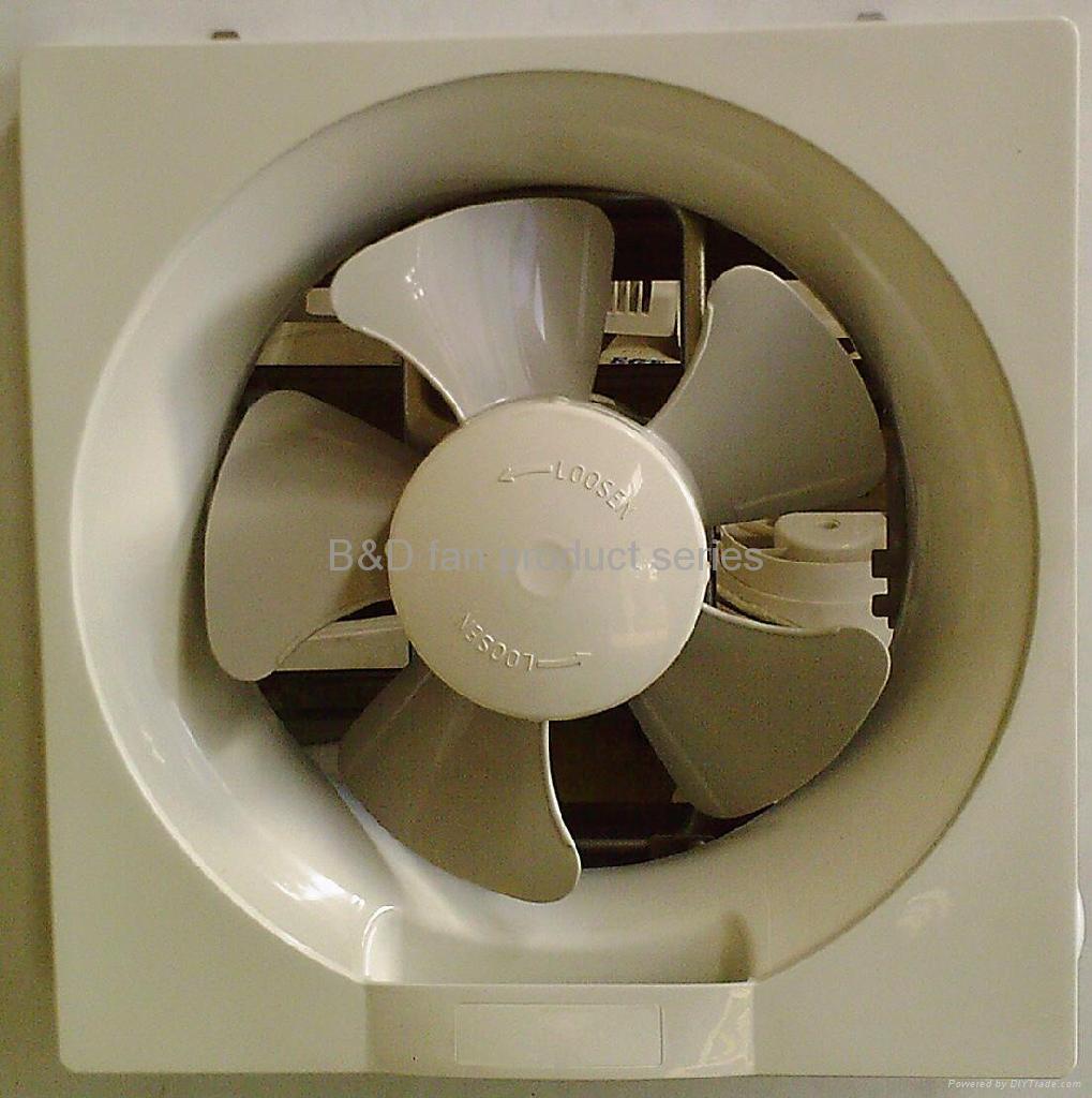 louver type exhaust fan