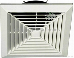 Ceiling mounted ventilating fan
